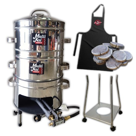 MultiKai 4 Basket Cooker with Trolley MultiKai 4 Basket Cooker with Trolley
