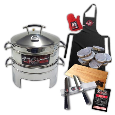 1 Basket Slow Smoker Charcoal Cooker with Free Extras 1 Basket Slow Smoker Charcoal Cooker-Free Extras