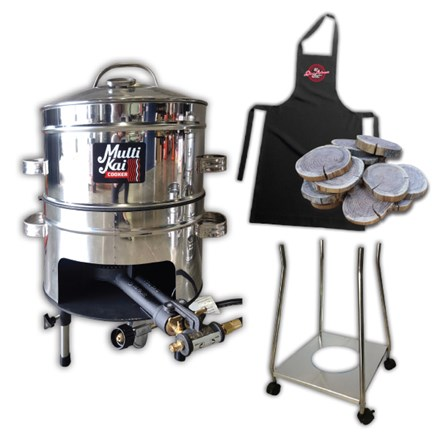 MultiKai 2 Basket Cooker with Trolley MultiKai 2 Basket Cooker with Trolley