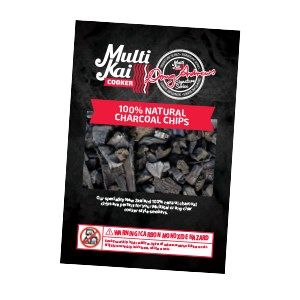 MultiKai Charcoal Chips 340 MultiKai Charcoal Chips